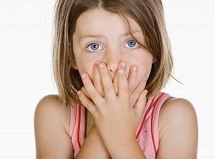 Child Telling Lie