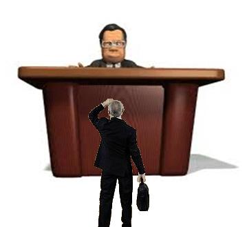 Boss Sitting Above Subordinate